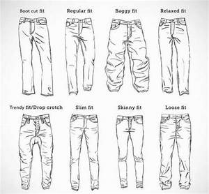 Sketching A Male Pant Trouser