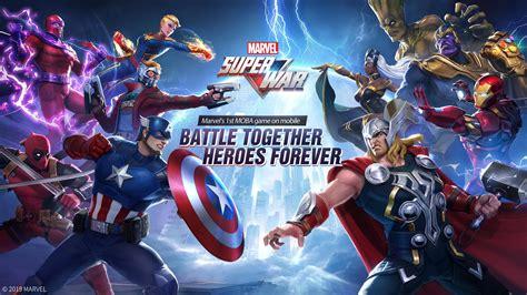 novo jogo dos vingadores  android marvel super war