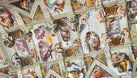 chapelle sixtine michel ange plafond d 233 fi comment peindre le plafond de la chapelle sixtine