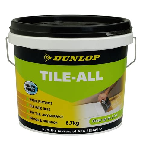 Tile Adhesive Remover Bunnings by Dunlop 6 7kg Tile All Tile Adhesive Kit Bunnings Warehouse