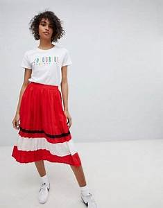 Midi skirts A line skirts calf length skirts