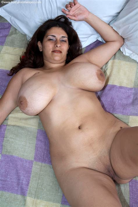 Busty Romina Lopez Huge Natural Tits Lovers - Naked Babes
