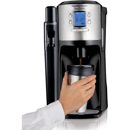 Hamilton and chester beach saw the potential. Hamilton Beach BrewStation 12-Cup Dispensing Coffeemaker   Model# 49150 - Walmart.com