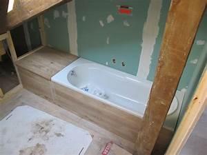Habillage Baignoire Bois : habiller baignoire avec bois ~ Premium-room.com Idées de Décoration
