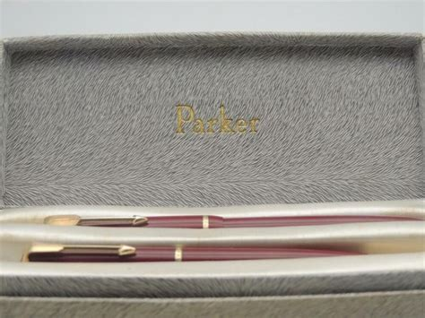 vintage boxed parker duofold junior fountain