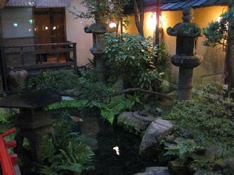 indoor japanese garden and fishpond picture of kikokuso
