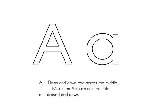 letter formation kindergarten langage