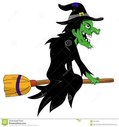 halloween witch stock photography image