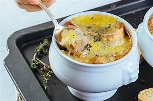 Sopa De Cebollas Gratinadas Recipe