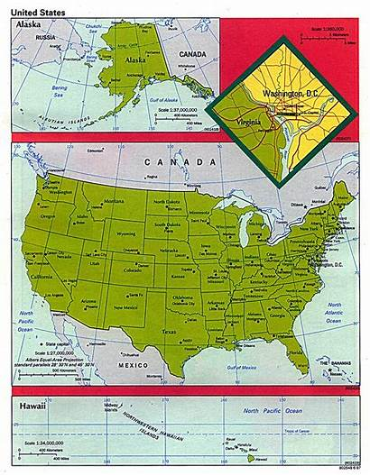 States United Map Maps Cia 1997 Pdf