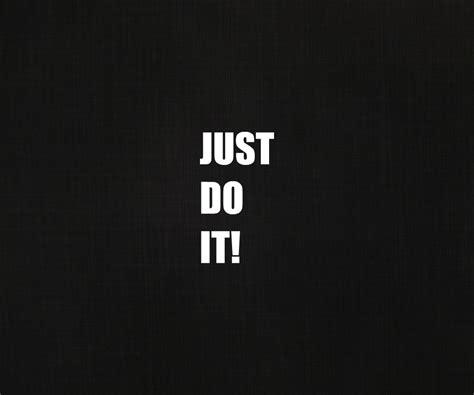 Just Do It Wallpaper HD WallpaperSafari