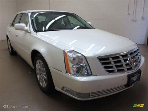 2009 White Diamond Tricoat Cadillac Dts Premium Luxury