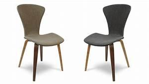 Chaise Bois Vintage : chaise design karlstad chaise bicolore mobilier moss ~ Teatrodelosmanantiales.com Idées de Décoration