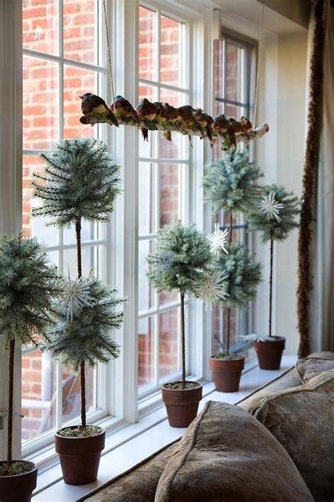 fensterbank dekorieren winterdeko idee freshouse
