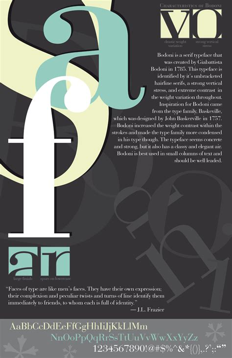 bodoni poster by sheertalentx on deviantart