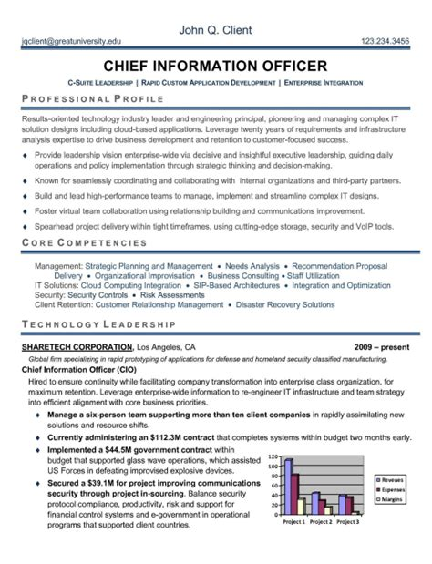 Executive Level Resume Template by Executive 3 Resume Format Executive Resume Executive