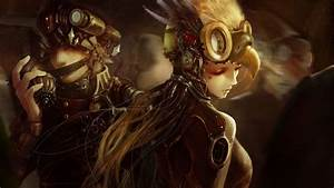 Artwork Fantasy Art Concept Art Women Steampunk Soldi