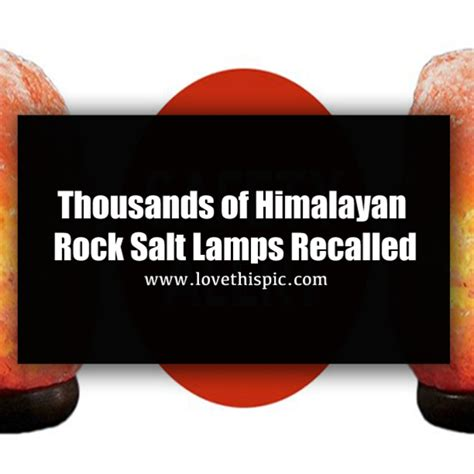 Himalayan Salt L Recall by Recall Your Himalayan Salt L May Harm You