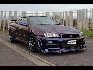 1999 Nissan Skyline R34 GTR V-Spec 600PS 6 Speed MNP III ...