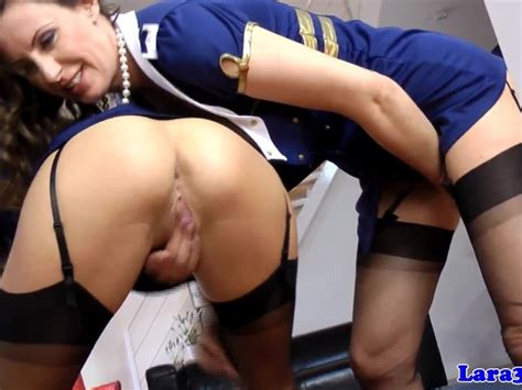 Classy British Milf In Uniform With Babe Free Porn Videos Youporn