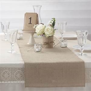 Deco Mariage Vintage : d co mariage vintage misez sur le trio jute dentelle ~ Farleysfitness.com Idées de Décoration