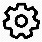 Settings Icon Gear Preferences Icons Flat Engine