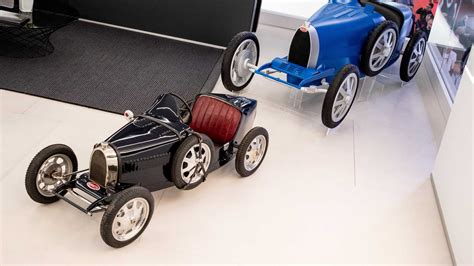 It's 75% of the size of a real bugatti type 35. Bugatti Baby II 'Kids Car' Costs Over R1 Million