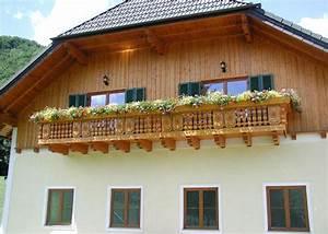 Balkon Blumenkasten Holz : holz tradition dachstein leeb balkone und z une ~ Orissabook.com Haus und Dekorationen