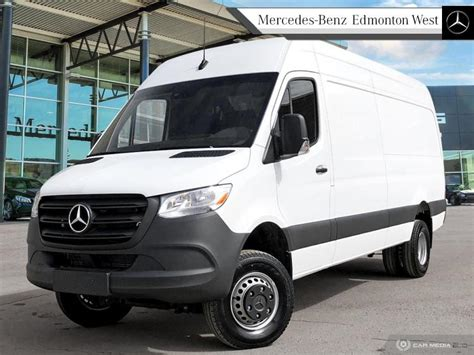 """We appreciate your interest in our inventory, and apologize we do not have model details displaying on the website at this time. New 2019 Mercedes Benz Sprinter Cargo Van 3500XD High Roof V6 170"""" 4x4 Regular Cargo in Edmonton ..."""