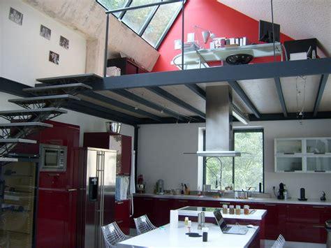 bureau sous mezzanine réalisation mezzanines métalliques sur mesure