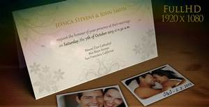 wedding invitation wedding announcement by jakubvejmola With wedding invitation videohive free download