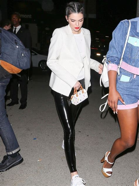 kendall jenner brought   iconic louis vuitton bag   early  allure
