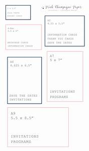 advice tips etiquette archives pink champagne paper With standard wedding invitation paper size