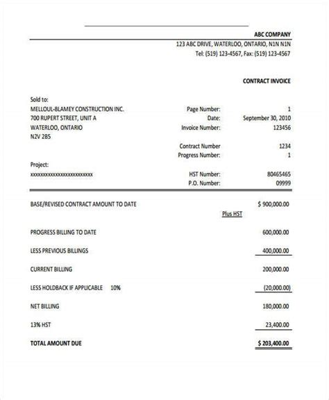 sample invoice templates word  excel