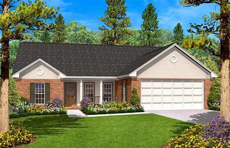 split bedroom ranch home plan hz architectural designs house plans