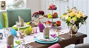 Une Dcoration De Table De Nol Fluo Prima