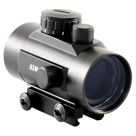 aim sports 1x42mm red dot sight weaver base 612977 red dot sights at sportsman 39 s guide