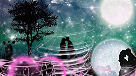 1920x1080 3d Abstract Love Couple 1080p Full Hd Wallpapers