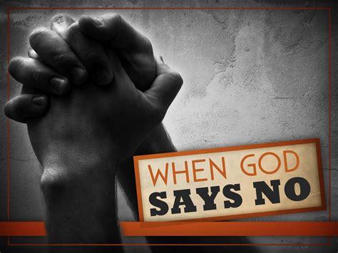 (BCP) When God Says No - Bellator Christi