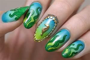 Under The Sea nail art nail art by Let's Nail Moscow ...