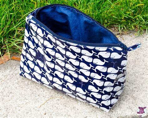 Tasche mia schnittmuster tasche mit reissverschluss. Kosmetiktasche + Schnittmuster - HANDMADE Kultur
