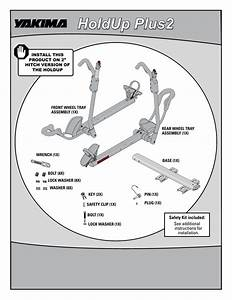 Yakima Hitch Mount Bike Racks Installation Instructions