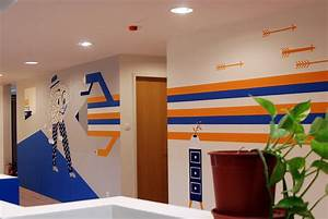 Young and Rubicam Budapest Office Decoration on Behance