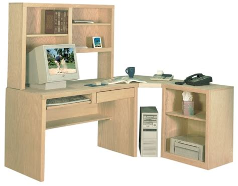 computer desk with hutch and printer shelf corner desk with hutch printer stand and angled corner