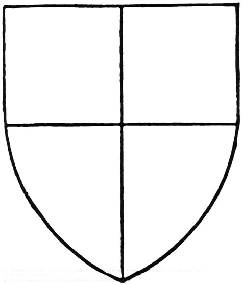 School Shield Template by The Gallery For Gt Blank Family Crest Printable