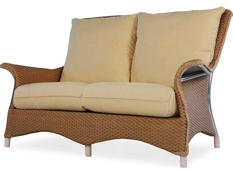 Loveseat Replacement Cushions by Lloyd Flanders Mandalay Loveseat Replacement Cushions