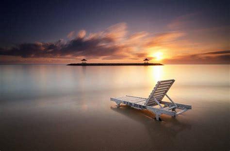 indonesia beach bali village landscape sunset sea