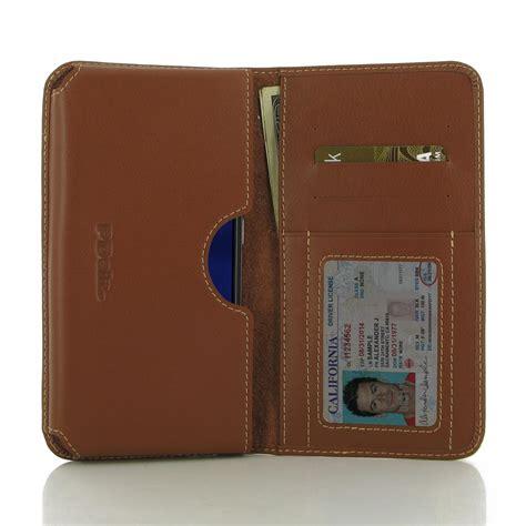 asus zenfone 3 wallet sleeve brown pdair pouch flip