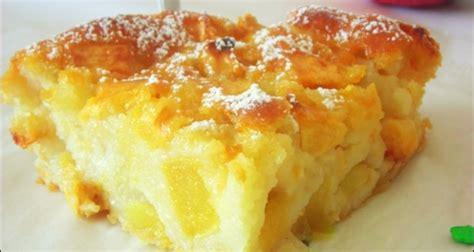 recette de mamie jeanne gateau aux pommes moelleux