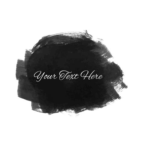 Abstract Black Watercolor by Abstract Black Watercolor Stain Design Free